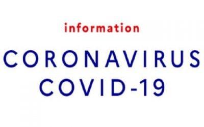 COVID-19 : Continuité des services